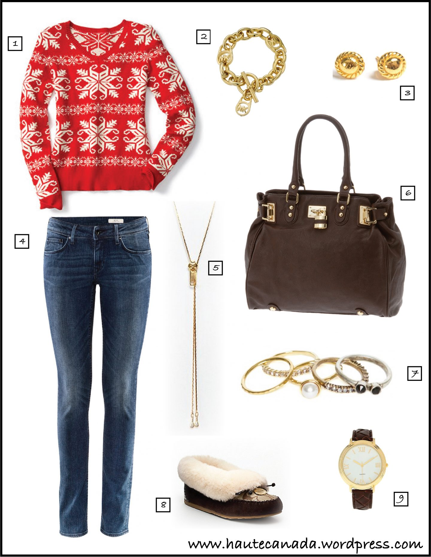 Online Stylist: Casual Christmas