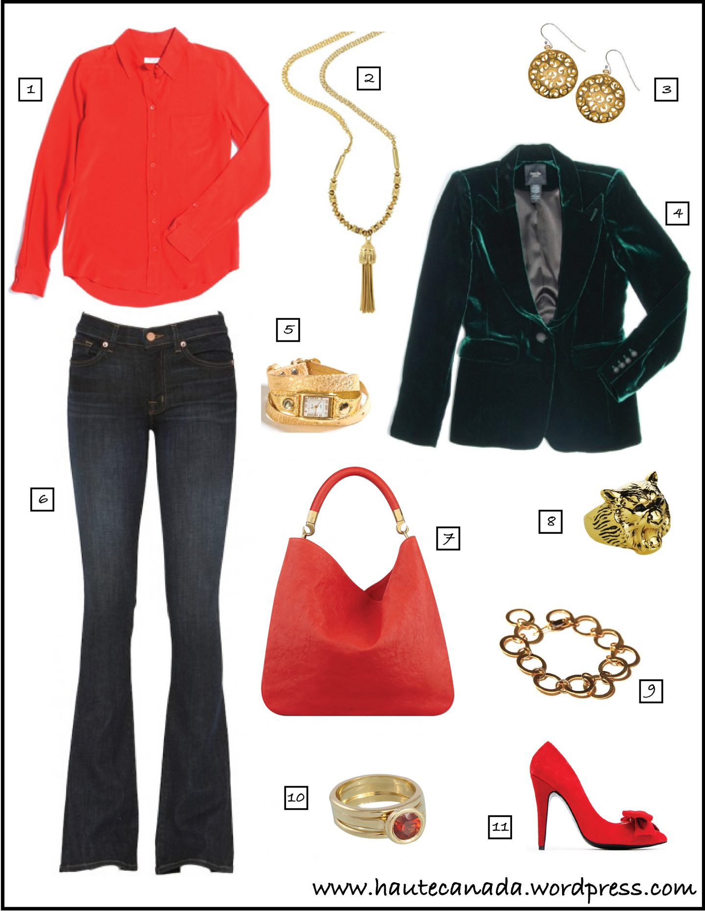 Haute's Online Stylist: Dressy-Casual Christmas