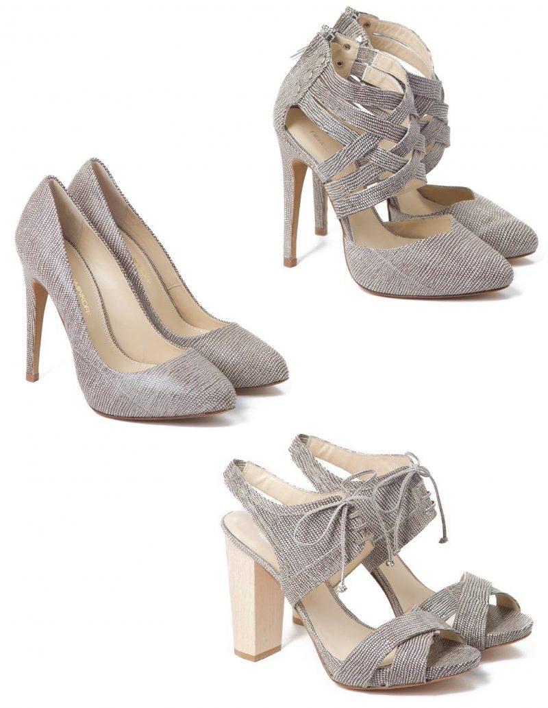 For The Love of Shoes: Rebecca Minkoff Lizard Embossed Heels