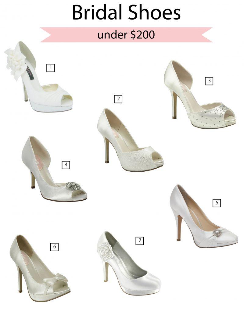 Bridal Shoes Under $200