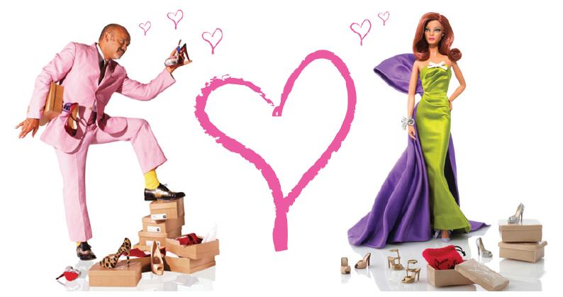 Christian Louboutin for Barbie