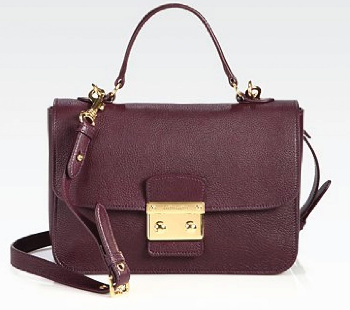 Miu Miu – Madras Crossbody Bag