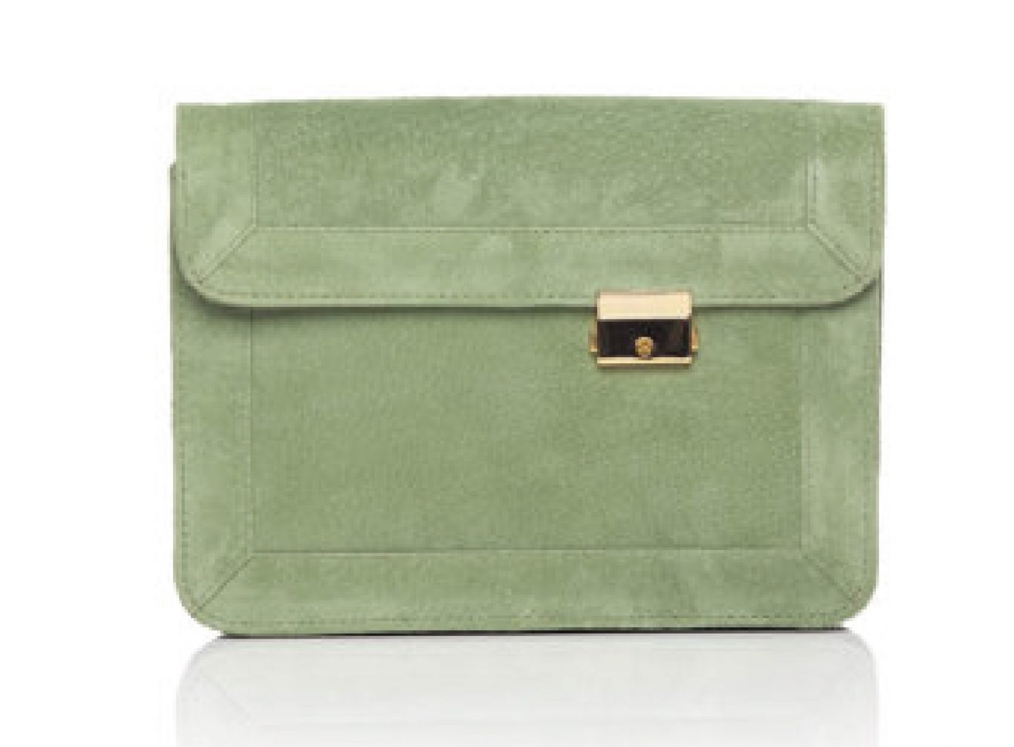 Taely Valentin – Suede Clutch