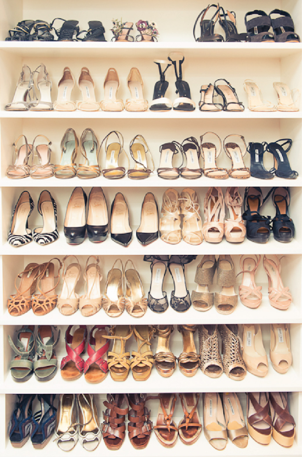 Shoe closet, Shoe Lover, Monique Lhuiller, The Coveteur, Shoe Self, Closets, Home Decor