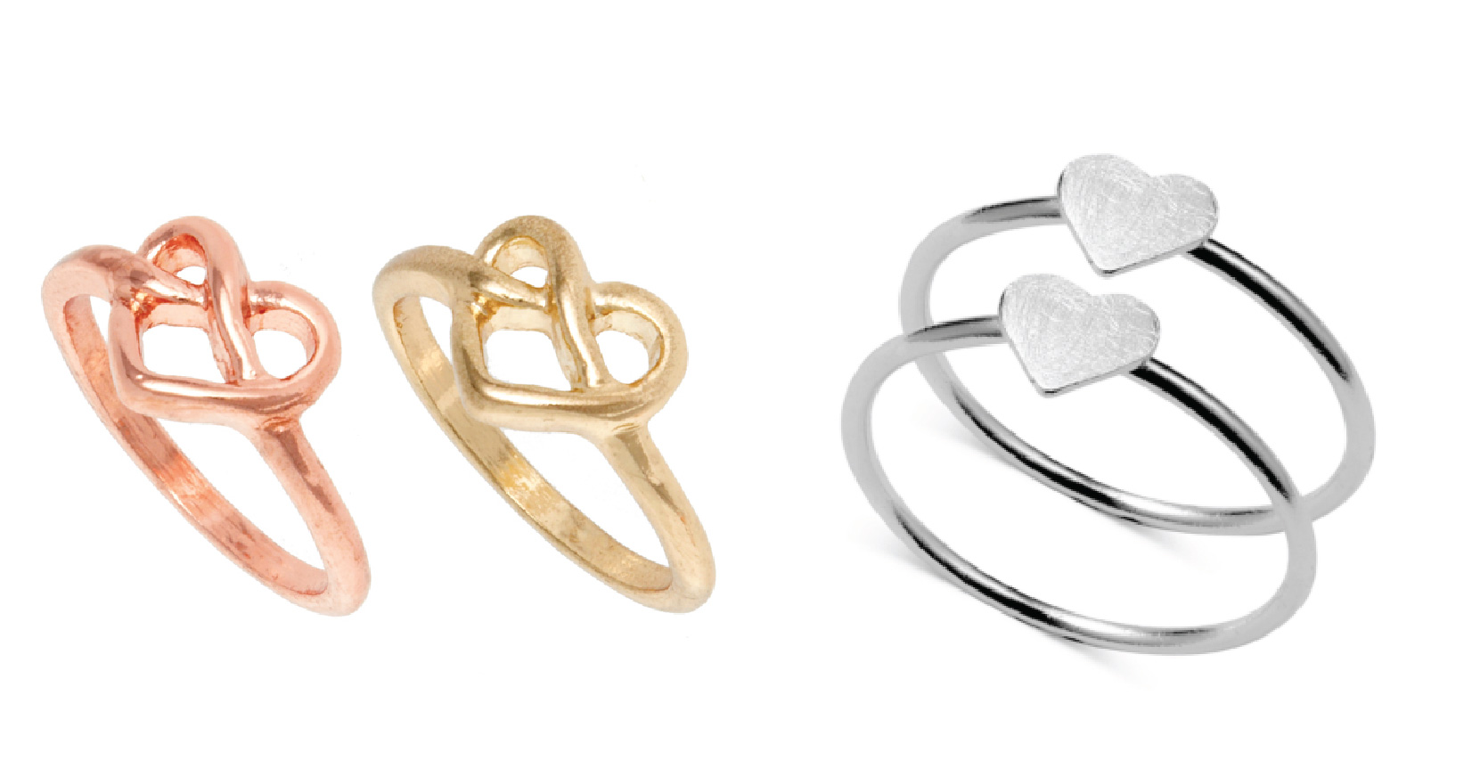 Heart Rings The Spirit Of Valentines Day A Side Of Style