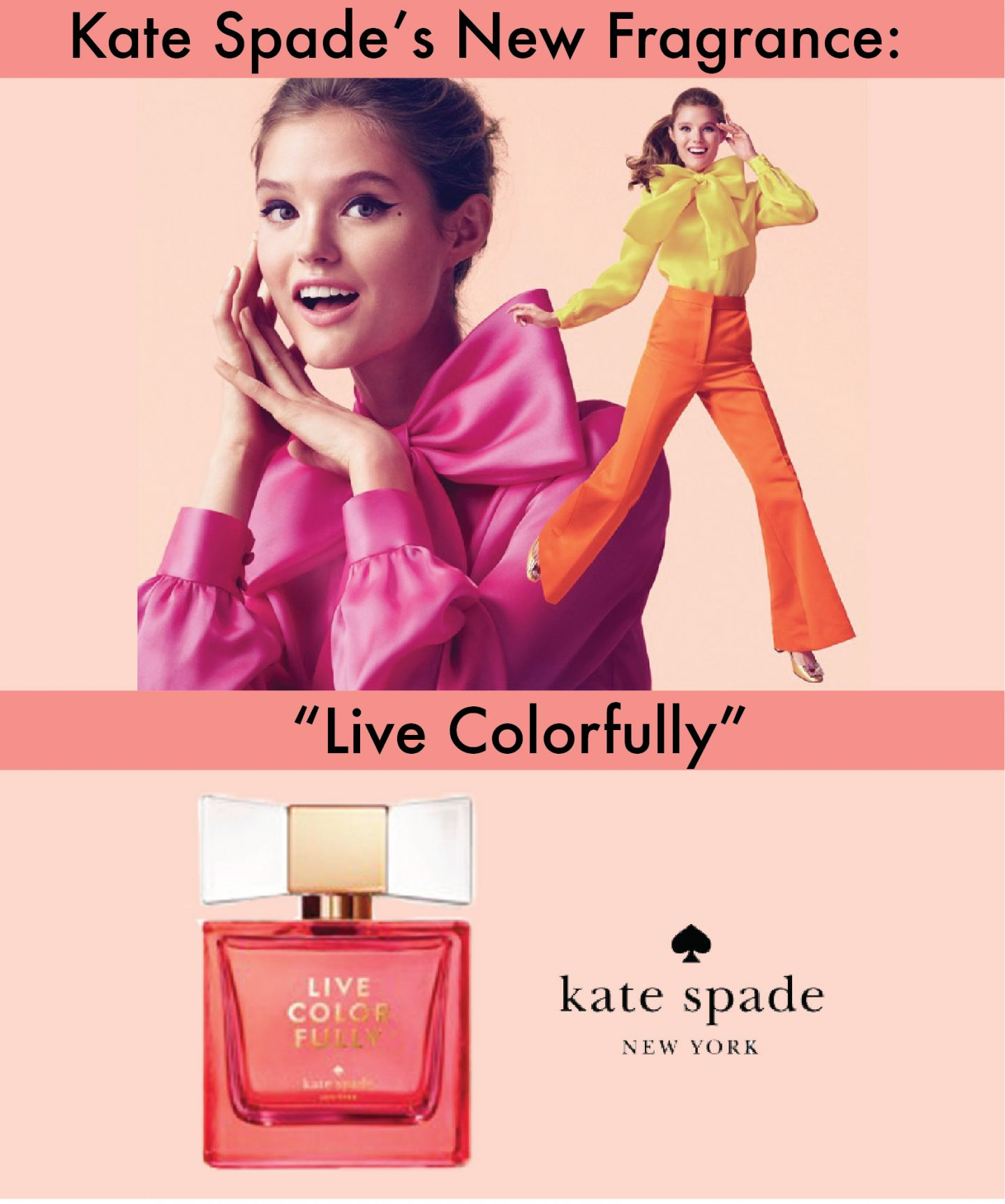 """Kate Spade's New Fragrance: """"Live Colorfully"""""""