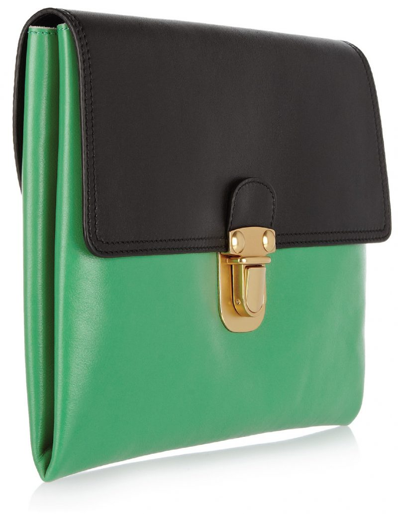 Marni – Two-Toned Leather Clutch