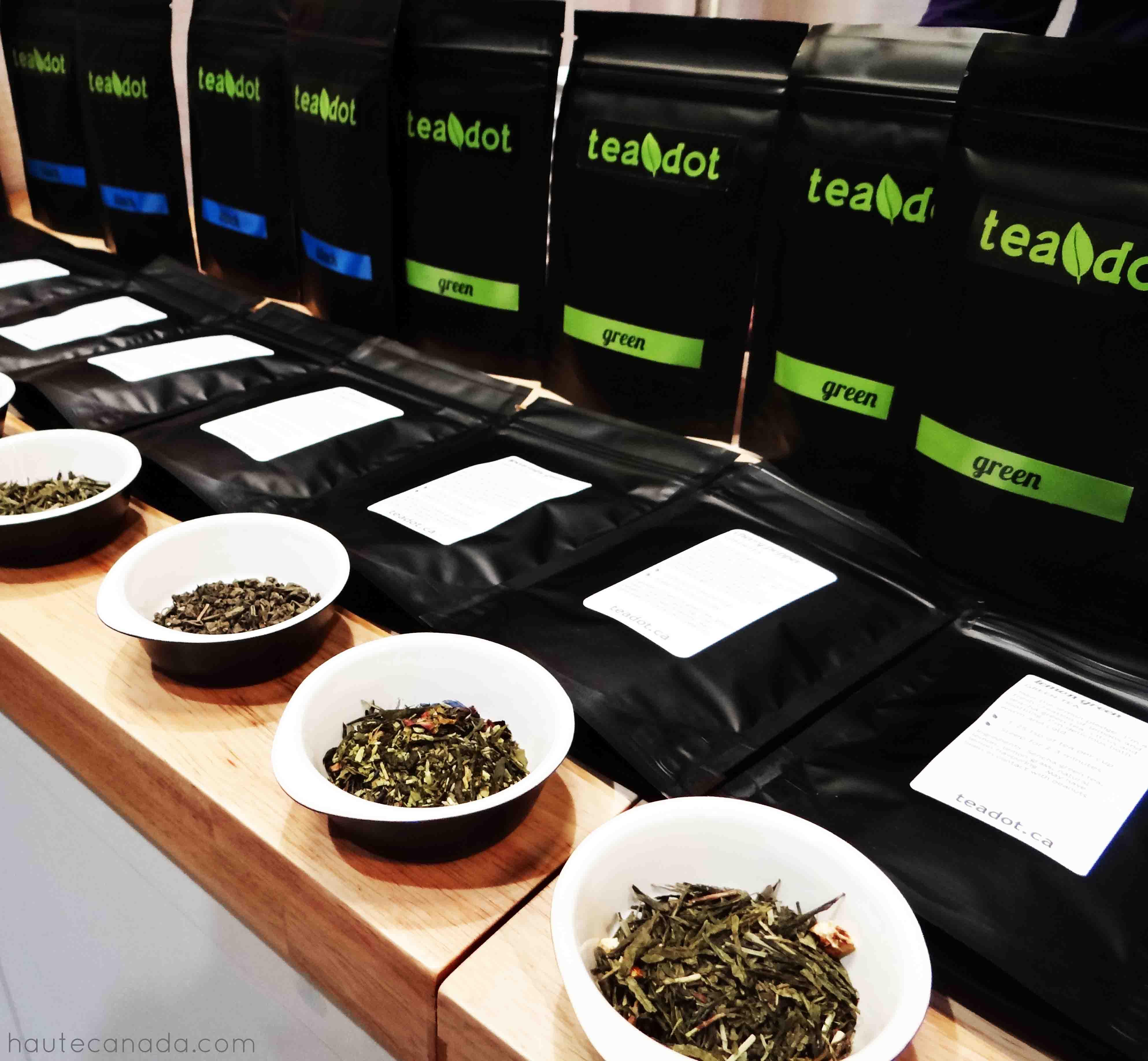 teadot, tea, toronto tea, loose leaf tea, one of a kind show toronto, ooak