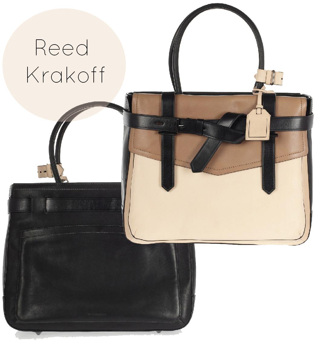 Bag Crush: Reed Krakoff – Boxer 1 Tri-Tone Leather Tote