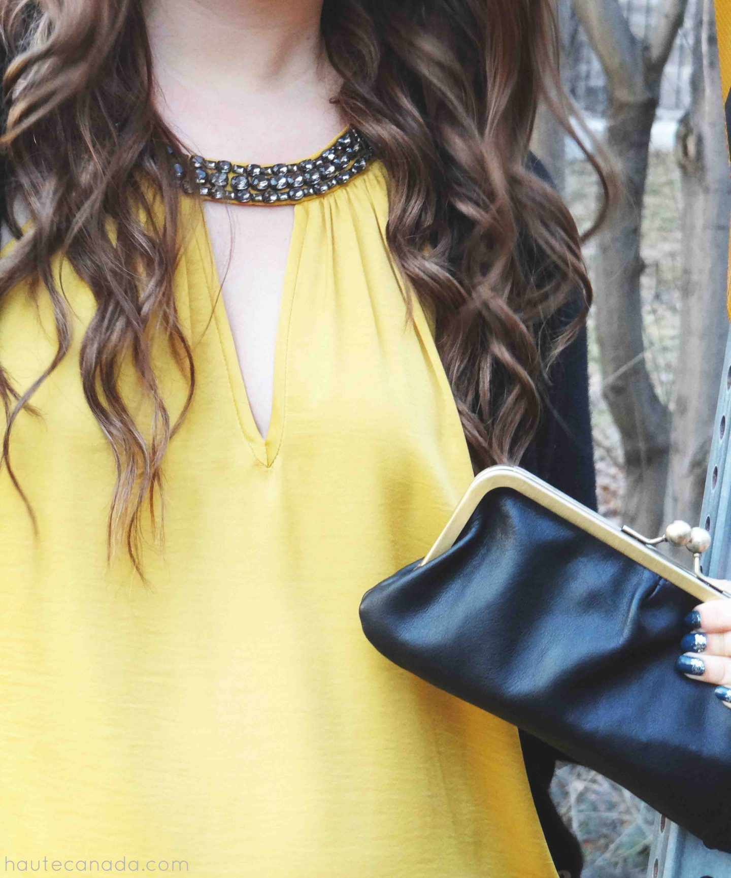 Outfit // Black + Mustard