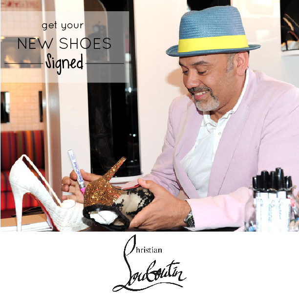 Meet Christian Louboutin at Holt Renfrew!
