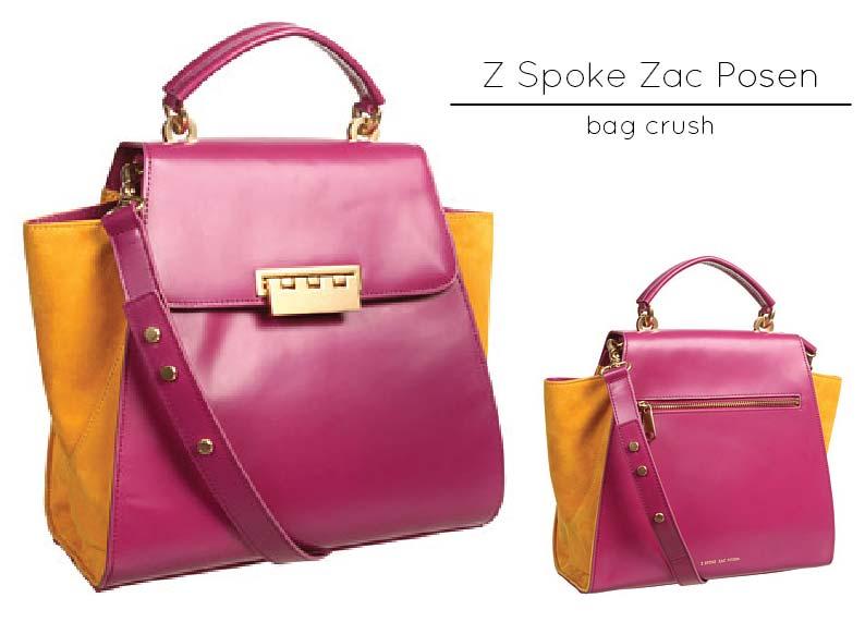 Bag Crush: Z Spoke by Zac Posen – Eartha Top Handle