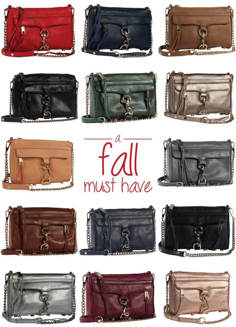 A Must Have Handbag: Rebecca Minkoff's Mini M.A.C in 14 Fabulous Fall Colours