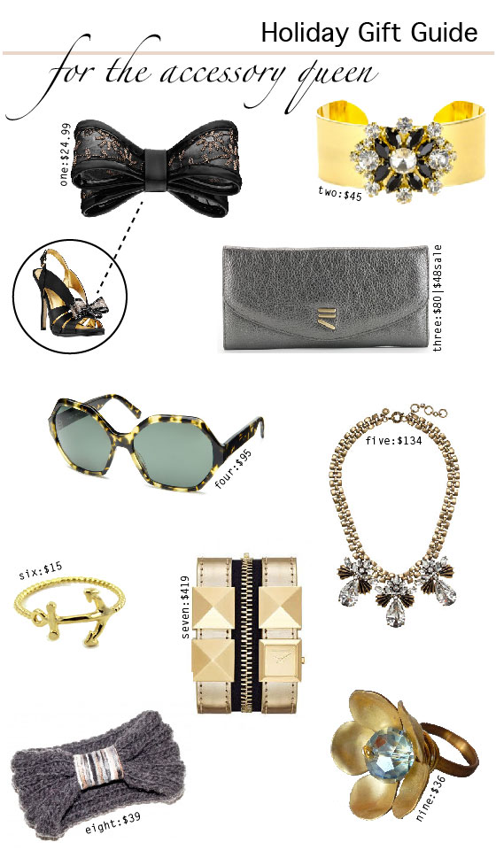 Holiday Gift Guide {For The Accessory Queen}