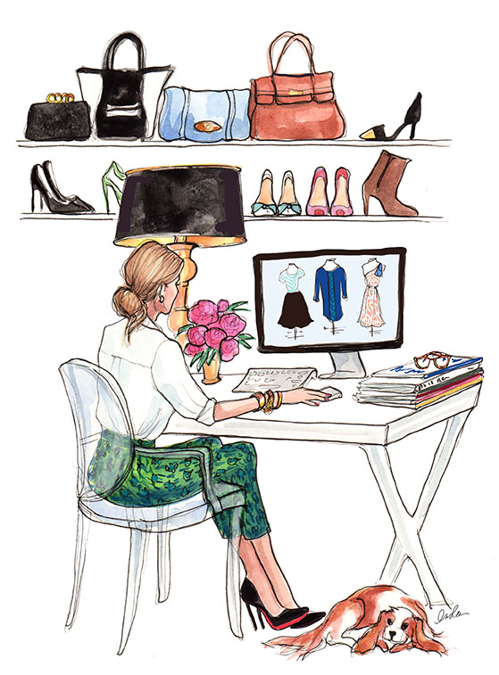 Let's Make 2014 Unforgettable! My New Year Resolutions + Illustrations by Inslee Haynes