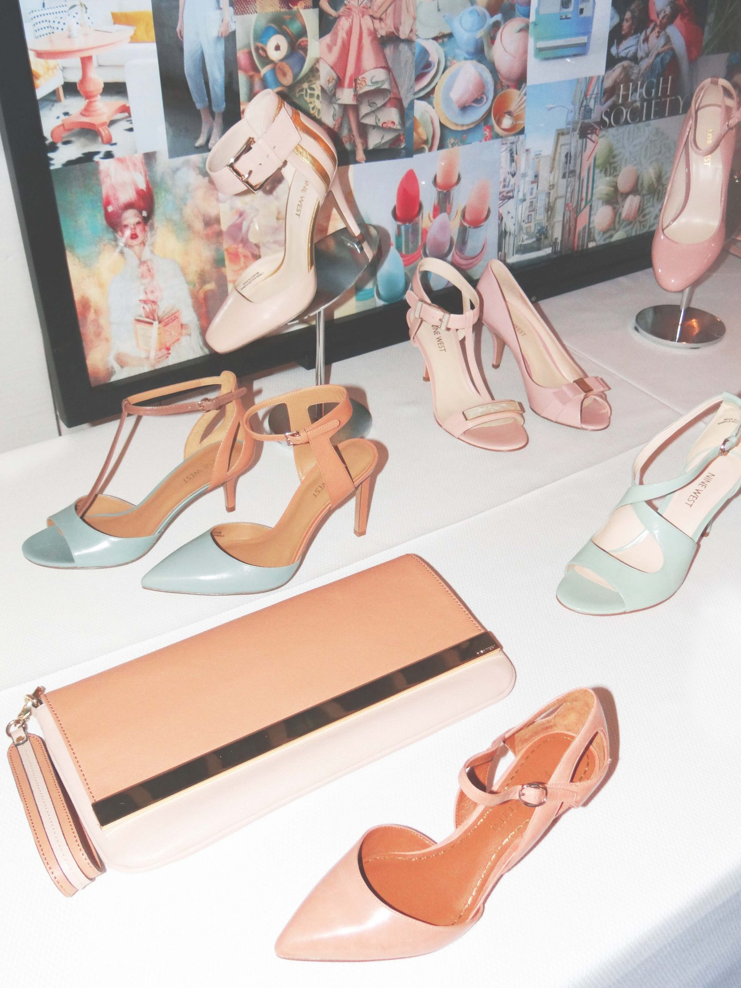 Pretty In Pastels {The Nine West Spring Collection}