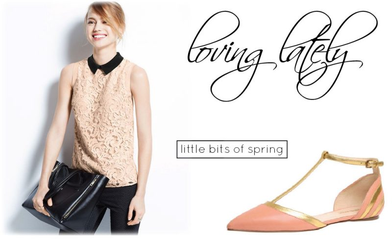 loving lately. {little bits of spring}
