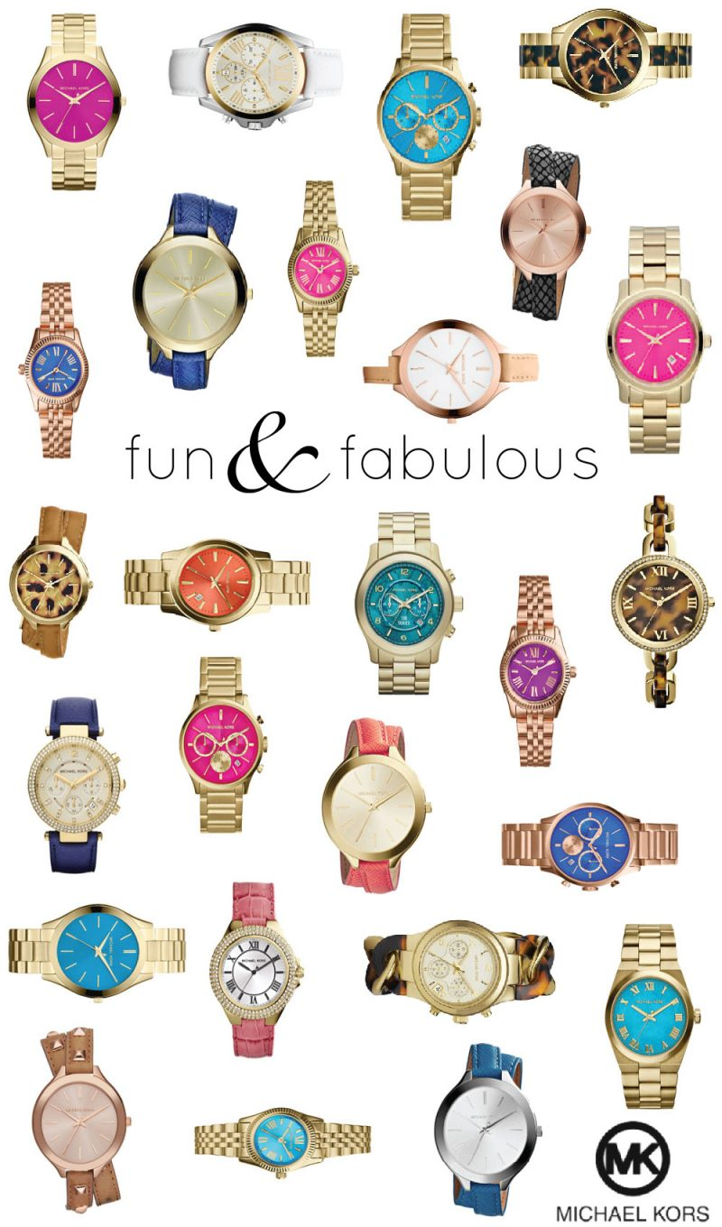 Fun and Fabulous Michael Kors Watches!