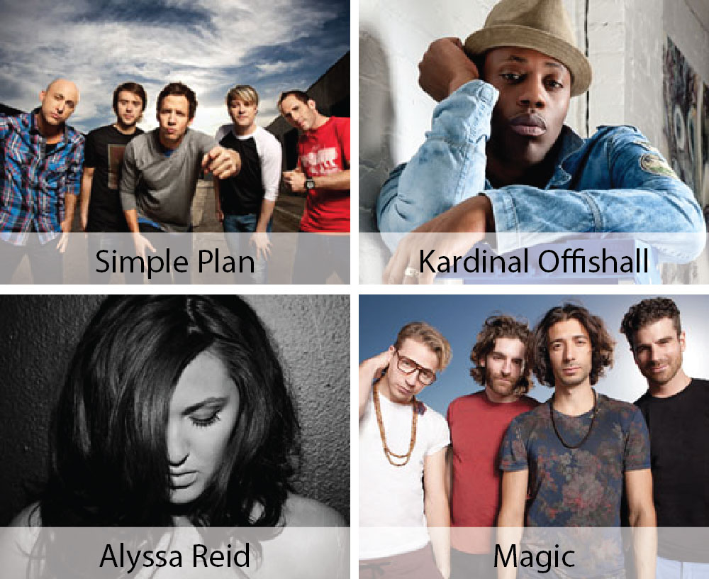 End Hunger in North America! {Join The Million Meals Movement with a Concert featuring Simple Plan, Kardinal Offishall, Alyssa Reid, and Magic}