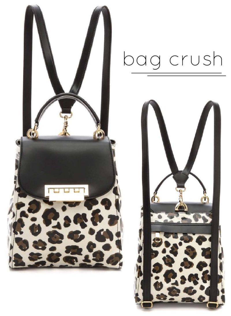 Bag Crush: ZAC Zac Posen Leopard Eartha Backpack