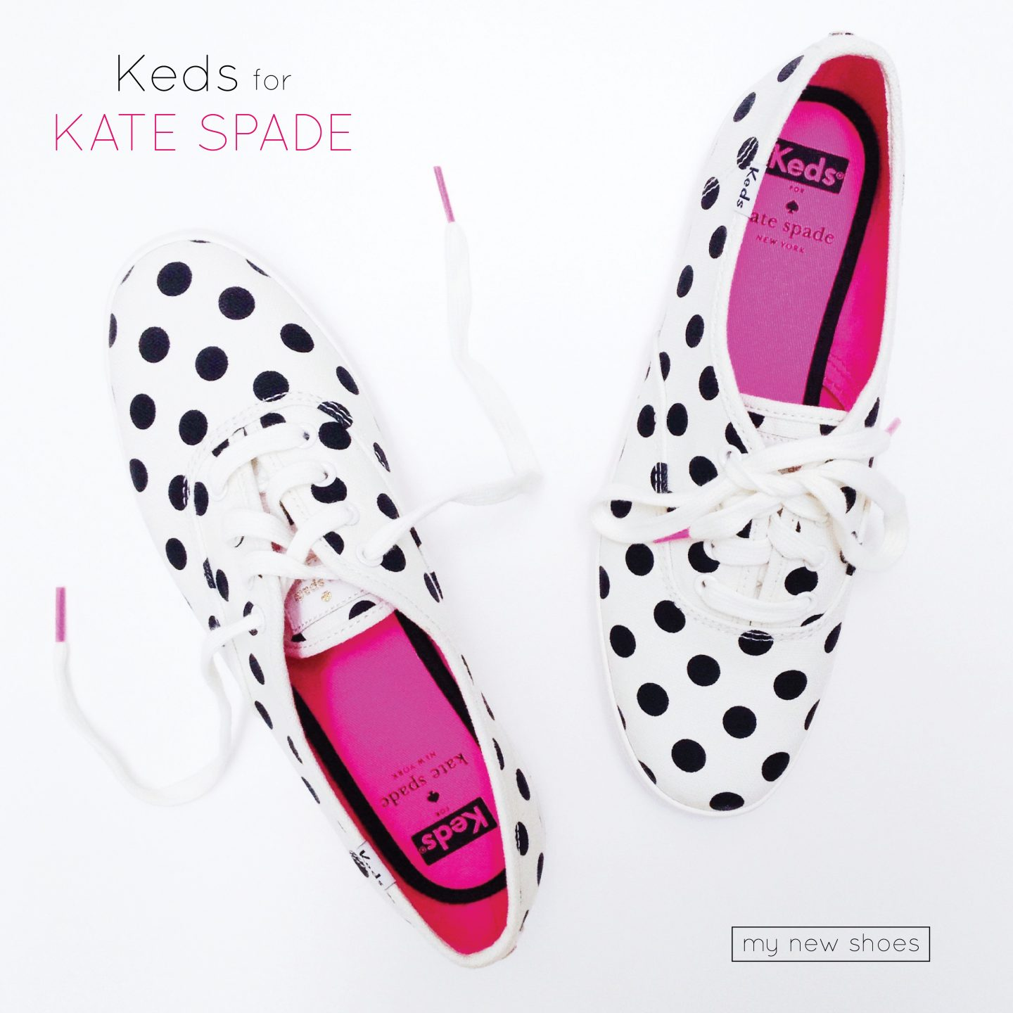 28114740cff3 My New Keds For Kate Spade Polka Dot Shoes