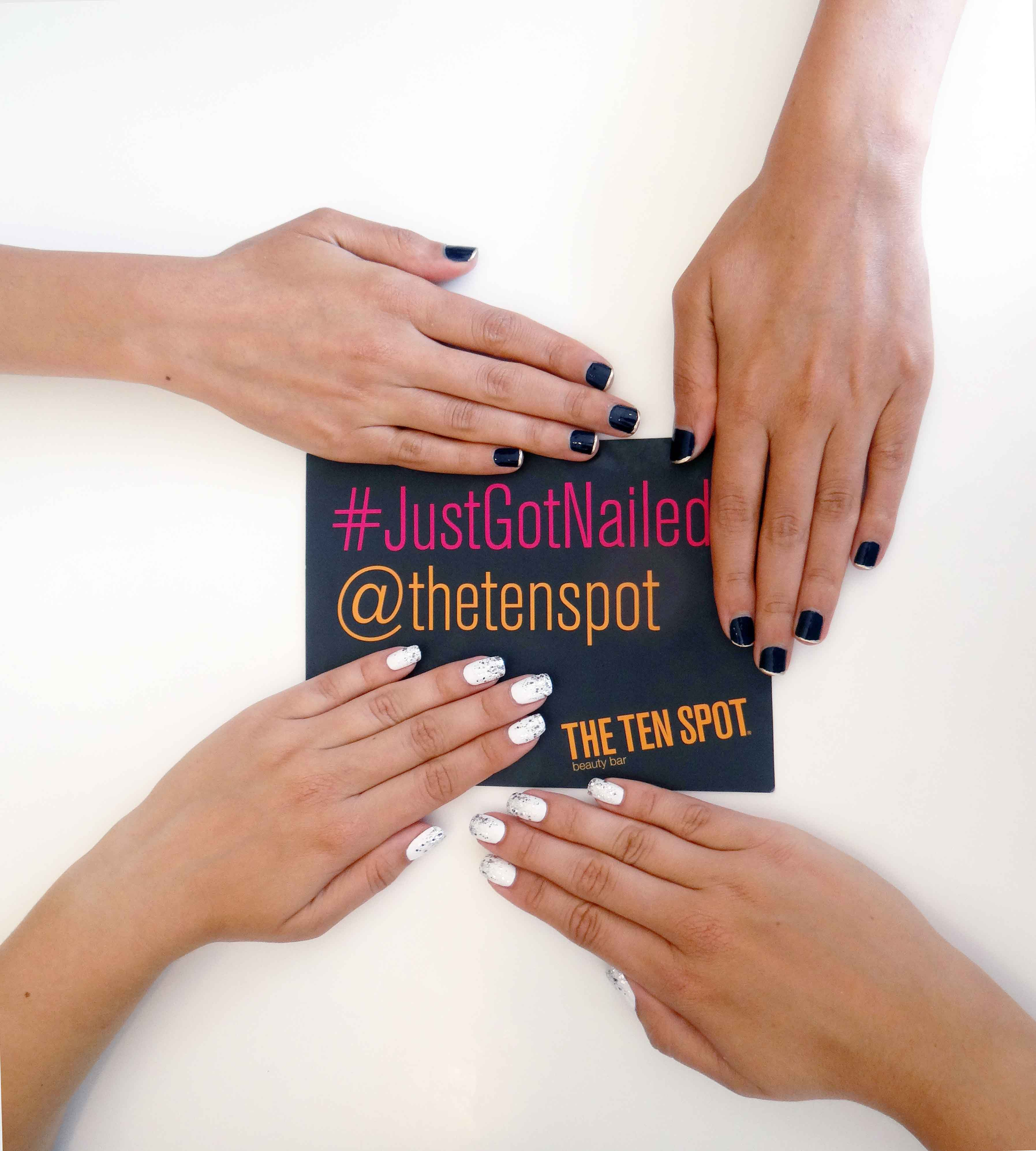 Nails, Nail Art, Beauty, Essie, Nail Polish, Manicure, Toronto Spas, Whree to get a manicure toronto, Forest Hill, The Ten Spot,