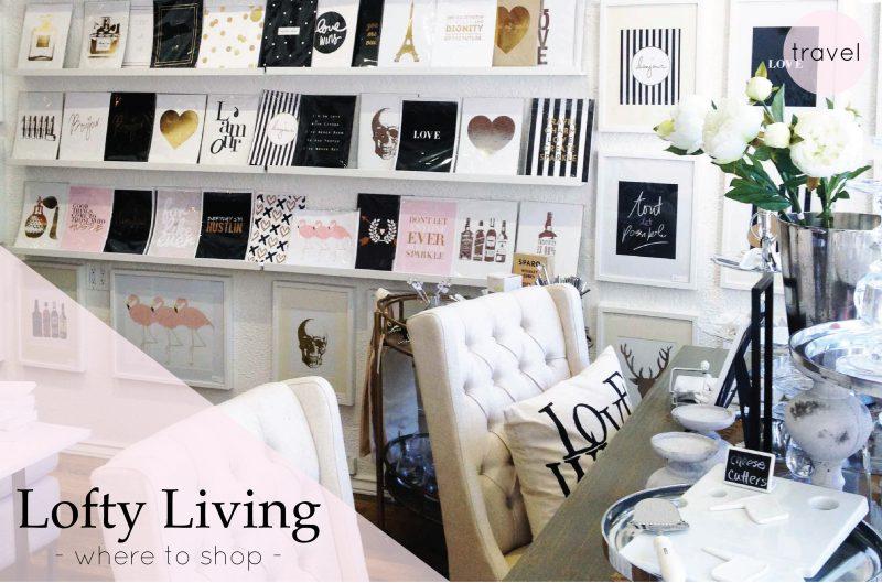 Where To Shop: Lofty Living {Travel – British Columbia, Canada}