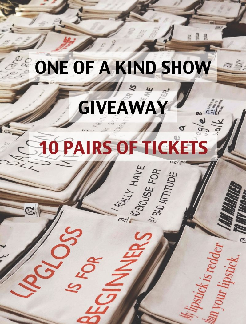 Giveaway: 10 Pairs of Tickets to the One Of A Kind Christmas Show!