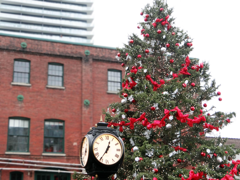 Christmas Tree, The Distillery Market, Toronto Distillery, Toronto Christmas Market, Holidays, Christmas, Toronto Markets, Events In Toronto, Lifestyle Blogger, Fashion and style blog