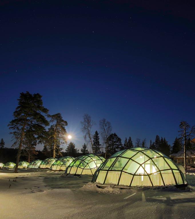 Best Hotels Finland View Aura Borealis Northern Lights