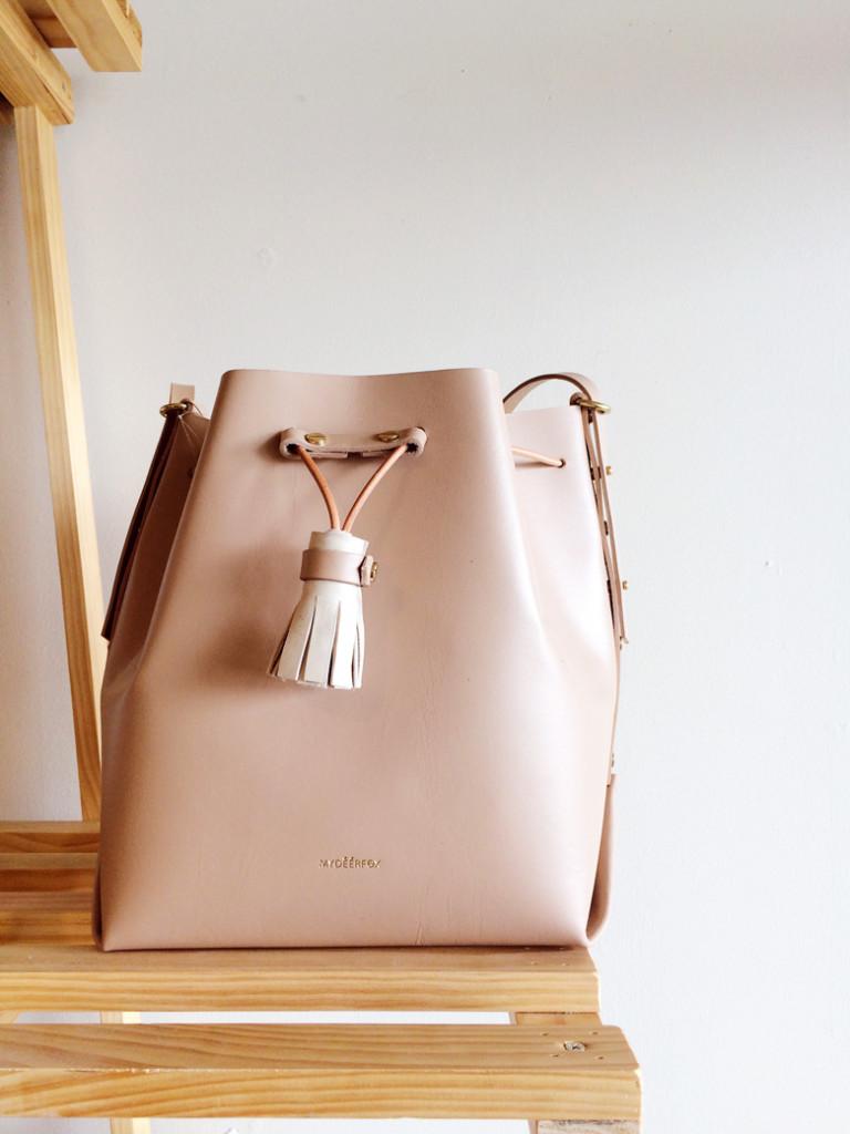 Pink-Bucket-Bag-My-Deer-Fox-Leather-Handbag