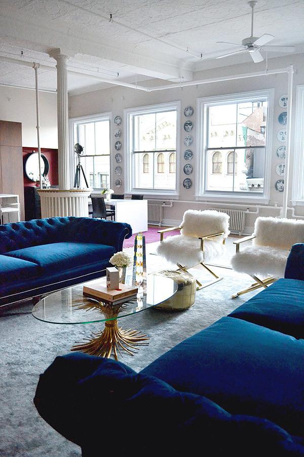 Home Inspiration // Tamra Sanford's Chic Soho NYC Loft