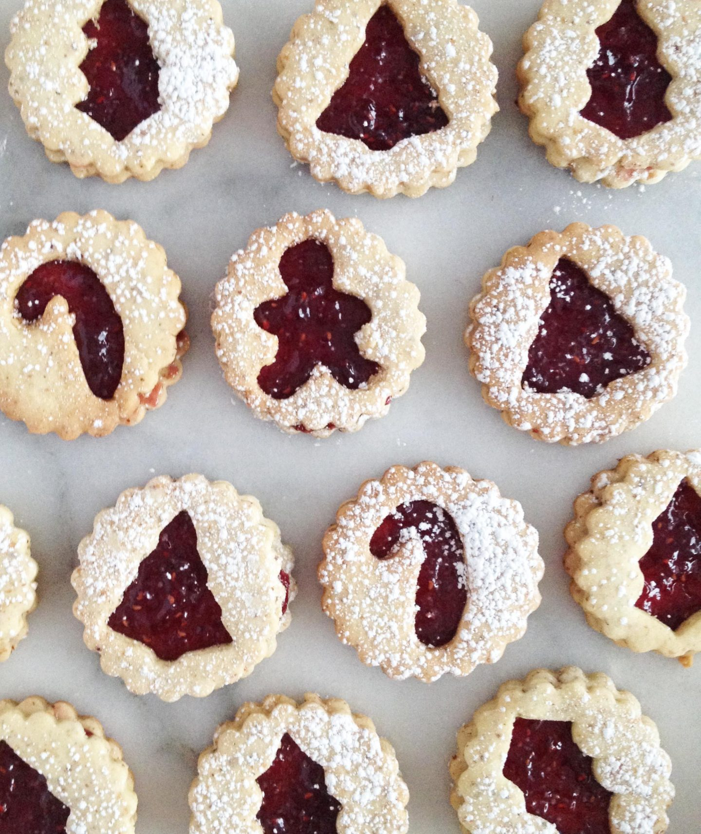 Swiss Jam Spitzbuben Christmas Cookies Recipe A Side Of Style
