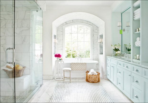 Home Inspiration // A Fresh and Beautiful Bathroom