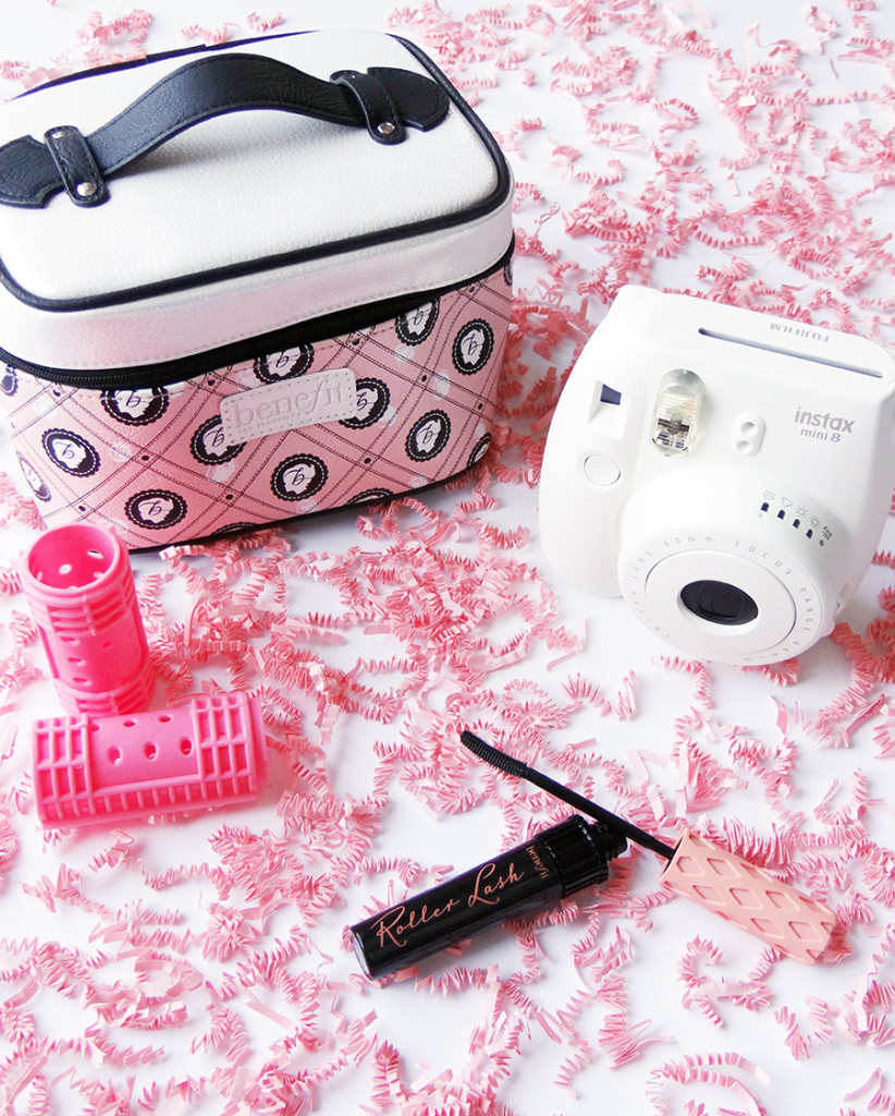 Benefit-Cosmetics-Roller-Lash-Mascara-Instax-mini-8-polaroid-camera