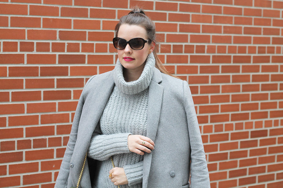 Grey on Grey, Fashion Inspiration, Winter Outfit