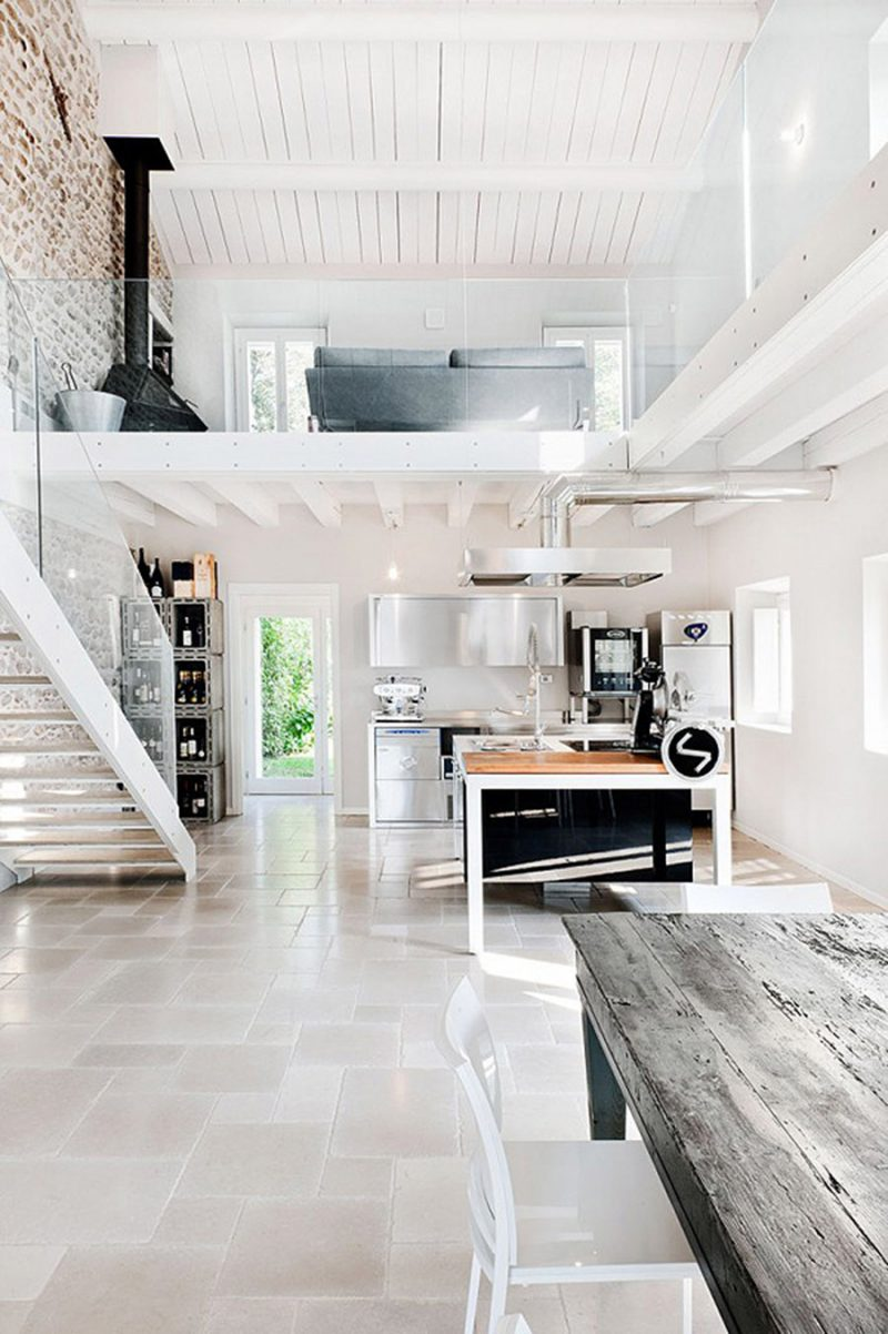Home Inspiration // Italian Villa With An Industrial Design Feel