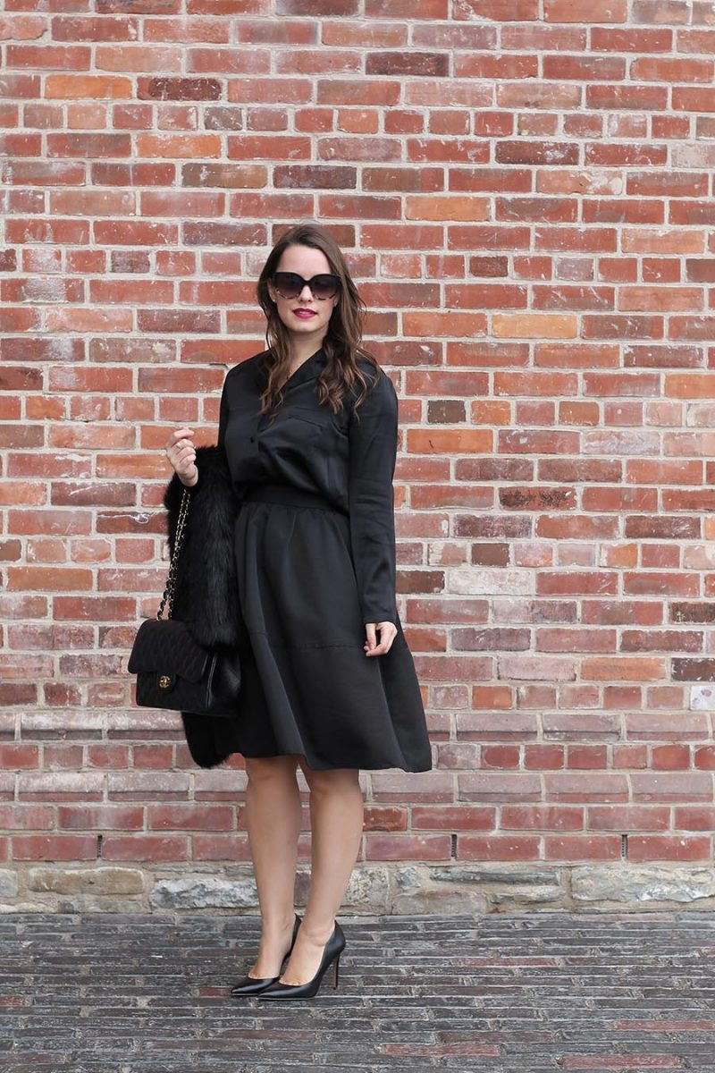 Outfit // All Black Easy Date Night Look