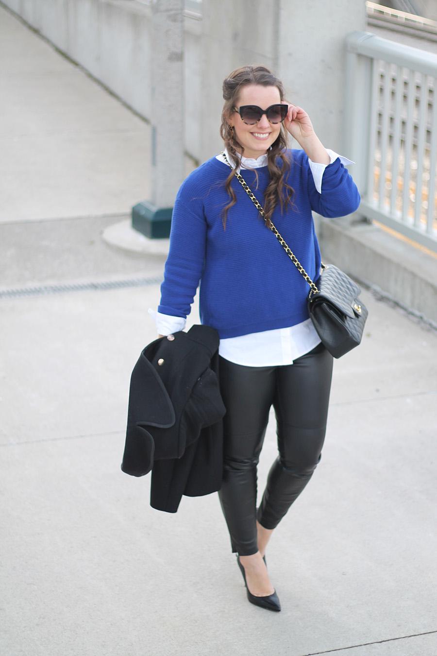 Womens Collared Shirt Sweater Anlis