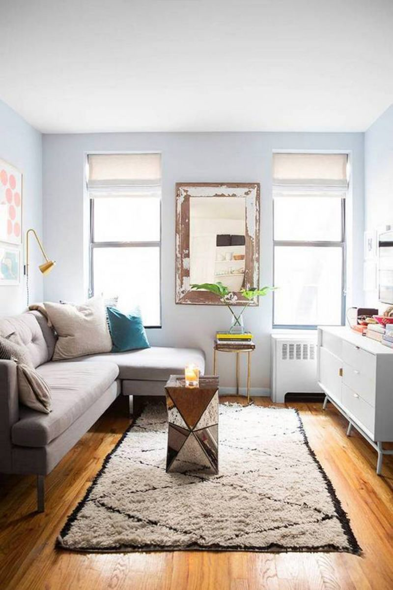 Inspiration For How To Live And Work In A Small Space // Nicole Heim of Cienne NY's Home Tour