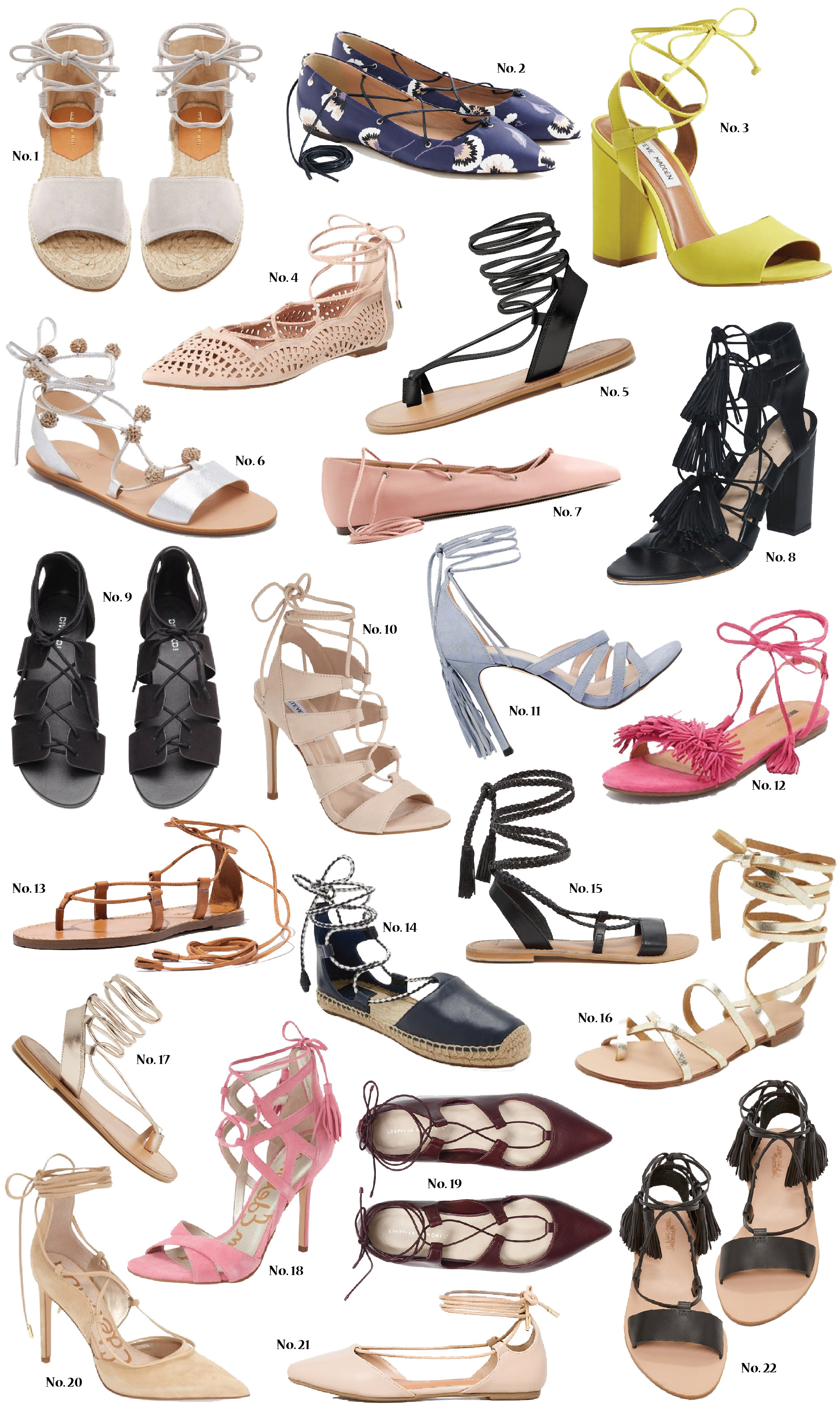Spring Shoes, Shoe Trends, Lace-Up Flats, Tie-Up Heels, Shoes, Fashion, Style,