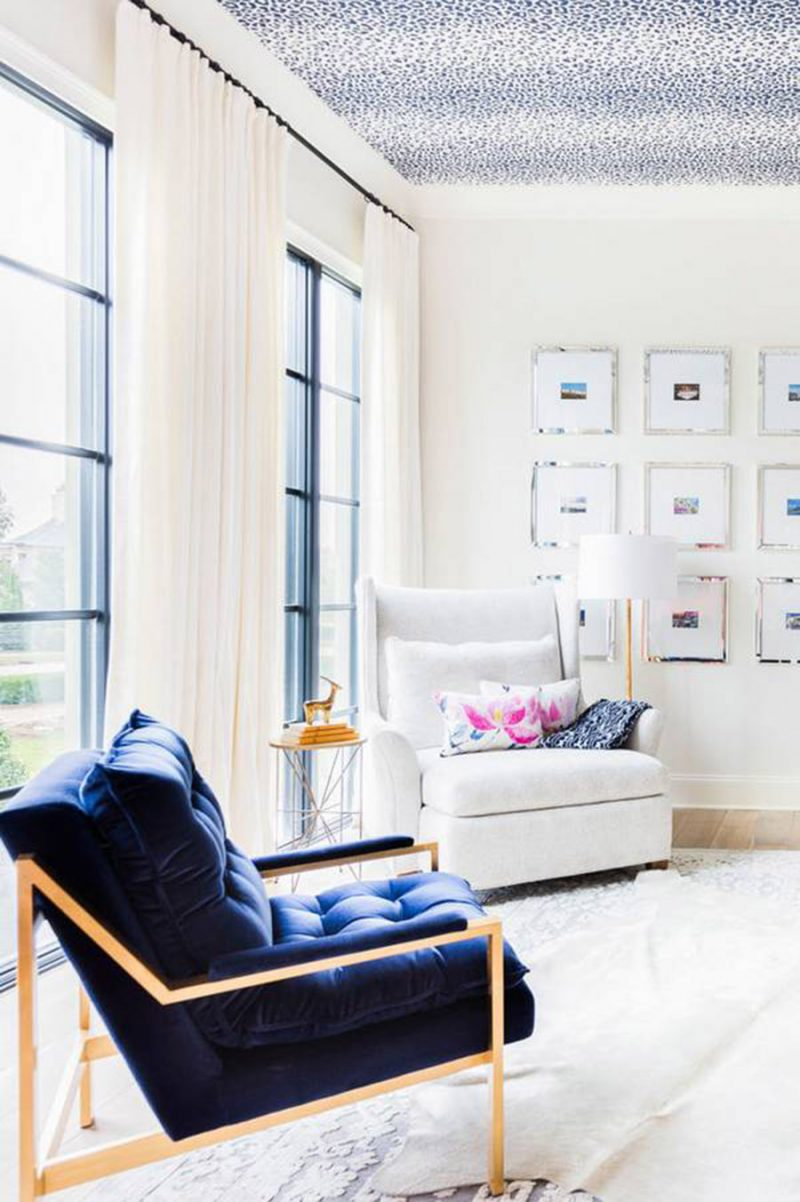 Home Inspiration // Elegant and Classic with Bold Colours