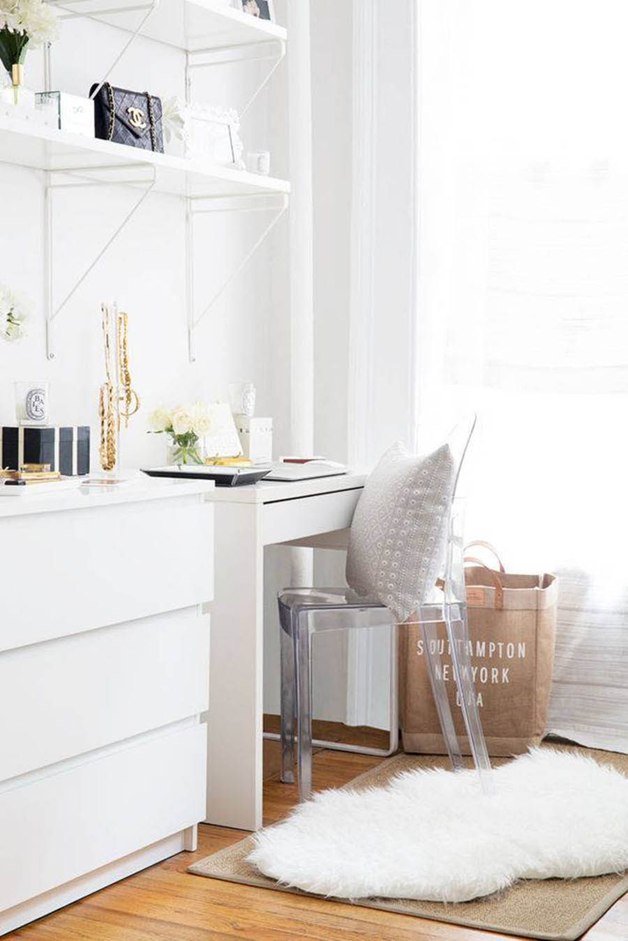 Home Inspiration // A Pretty & Functional 450 Square Foot Apartment-Condo