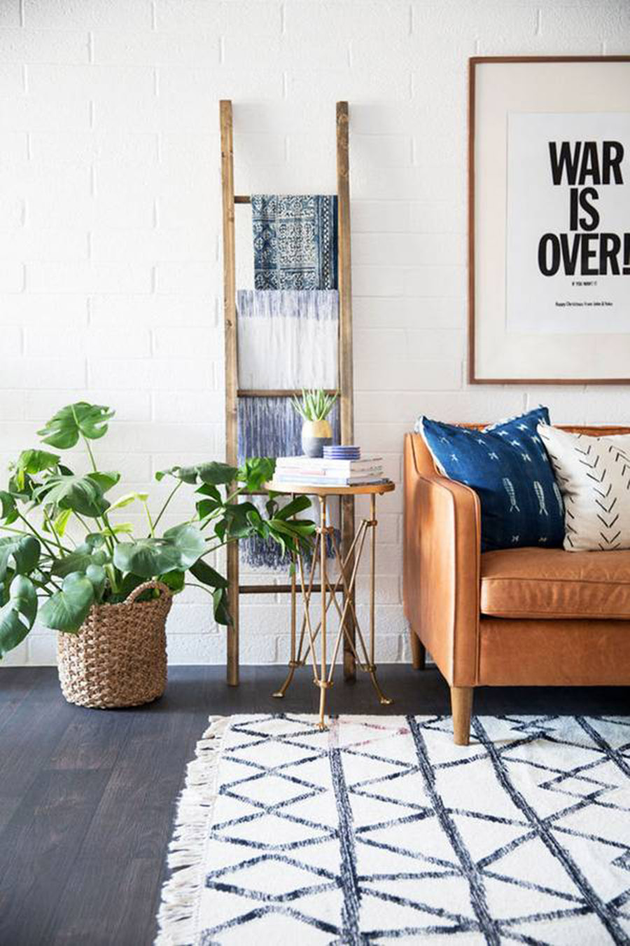 Home inspiration southwest boho minimalism a side of for Minimalist home decor ideas
