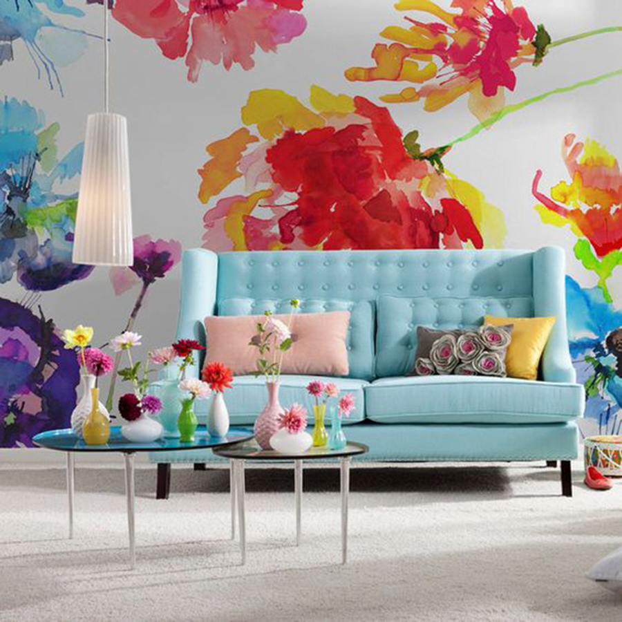 Kv condo wallpaper wall murals a home decor trend i 39 m for Design wall mural