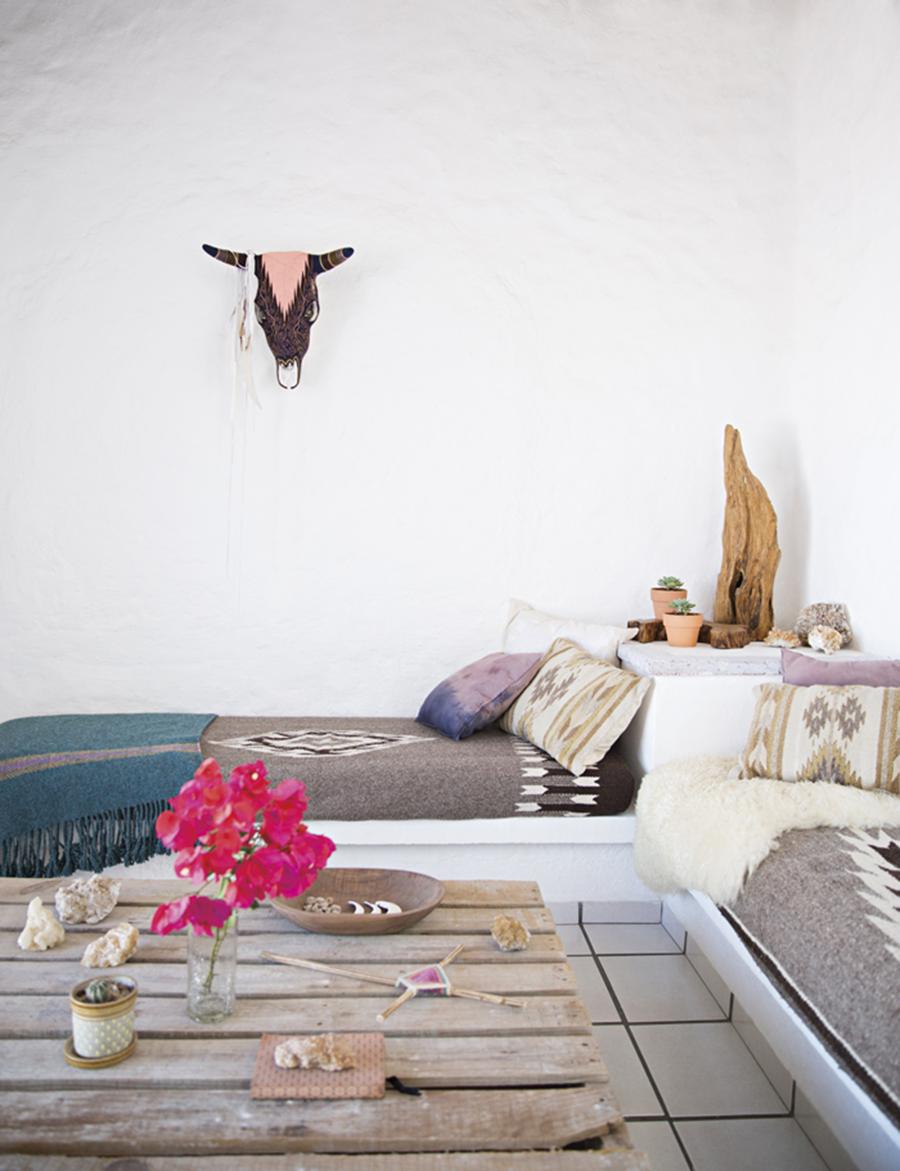 Mexican Living, Boho Home Decor, Bedroom Inspiraiton, Rustic Decor, Home Tour