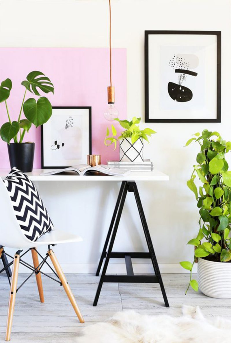 KV Condo // Office Inspiration For A Small Space