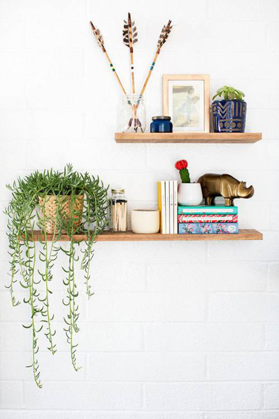 Shelf Styling, Decorating Shelves, Home Decor, Home Styling, Interior Design, Home Tour, Bohemian Style