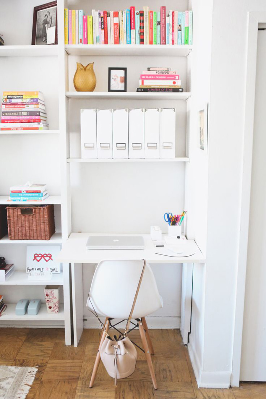Kv Condo Office Inspiration For A Small Space A Side Of Style