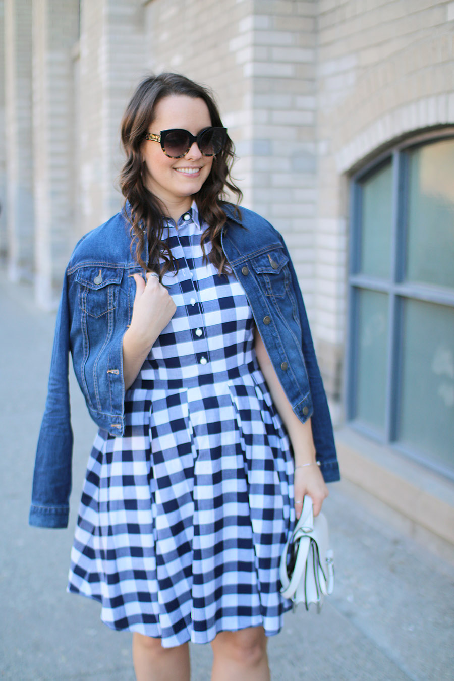 Outfit // A Gingham Dress